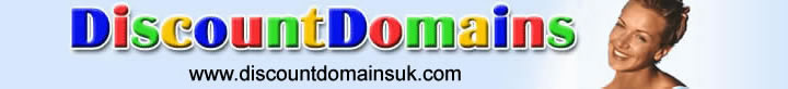 Discount Domain Registration Cheap Web Hosting  Low Cost E-Marketing Online Solutions
